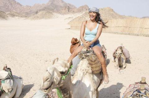 Durante viagem ao Egito, a ex-BBB e atriz Gyselle Soares visitou pontos turísticos e conheceu um pouco da cultura egípcia