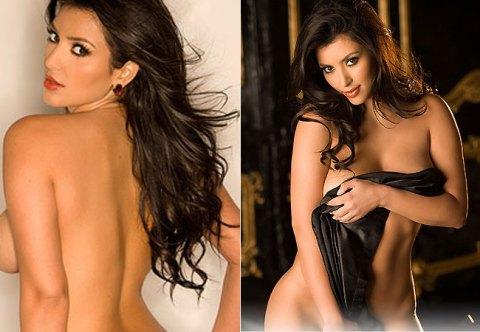 O primeiro ensaio fotográfico de Kim foi feito logo depois da divulgação de imagens, via Internet, dela e do então namorado Ray J fazendo sexo.