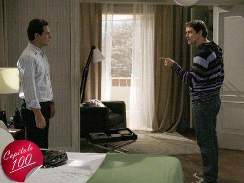 Gerson não quer mais morar na mesma casa que Mauro o acusando de traidor