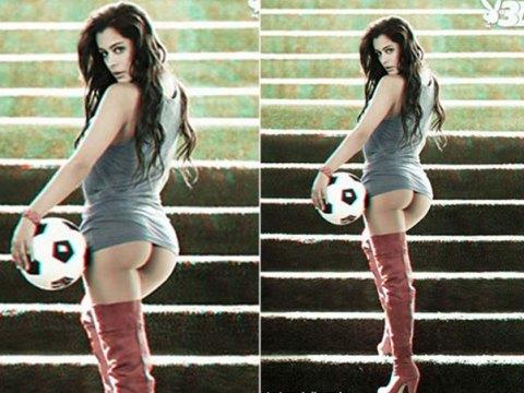 Paraguaia é capa da edição de setembro da 'Playboy'.